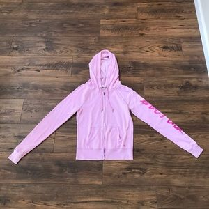 ✨PINK Victoria's Secret Hooded Sweatshirt Sz XS